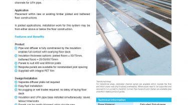 Hep2O joisted & battened floors panel data sheet