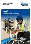 Hep2O underfloor heating product guide