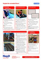 Hep2O staples system installation guide