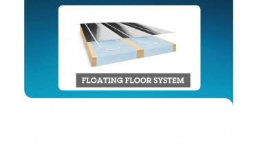 How to install the floating or joisted floor panels for battened floors systems
