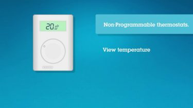 Non programmable thermostats